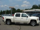 2011 White Diamond Tricoat Chevrolet Silverado 1500 LTZ Crew Cab 4x4 #68889879