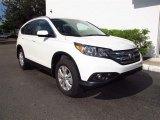 2012 White Diamond Pearl Honda CR-V EX-L 4WD #68889478