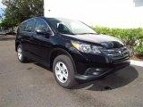 2012 Crystal Black Pearl Honda CR-V LX #68889476