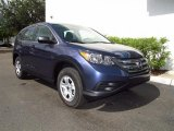 2012 Twilight Blue Metallic Honda CR-V LX #68889475