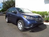 2012 Twilight Blue Metallic Honda CR-V LX #68889474