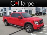 2011 Race Red Ford F150 FX4 SuperCrew 4x4 #68889434