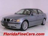 2002 Grey Green Metallic BMW 3 Series 330i Sedan #687786
