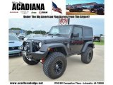 2011 Black Jeep Wrangler Rubicon 4x4 #68889804