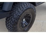 2011 Jeep Wrangler Rubicon 4x4 Custom Wheels
