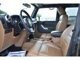 2011 Jeep Wrangler Rubicon 4x4 Front Seat