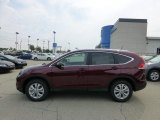 2012 Basque Red Pearl II Honda CR-V EX-L 4WD #68890197