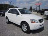 2009 Clear White Kia Sorento LX 4x4 #68890182