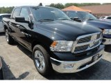 2012 Black Dodge Ram 1500 Big Horn Crew Cab 4x4 #68890068