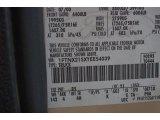 2000 F250 Super Duty Color Code for Harvest Gold Metallic - Color Code: B5