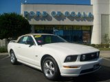 2007 Performance White Ford Mustang GT Premium Convertible #687842