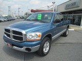 2006 Atlantic Blue Pearl Dodge Ram 1500 SLT Quad Cab 4x4 #68954145