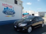 2012 Tuxedo Black Metallic Ford Focus SEL Sedan #68953986