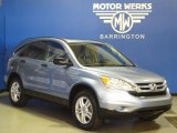 2011 Glacier Blue Metallic Honda CR-V EX 4WD #68953913