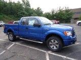 2012 Blue Flame Metallic Ford F150 STX SuperCab 4x4 #68954053