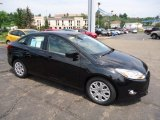 2012 Tuxedo Black Metallic Ford Focus SE Sedan #68954049