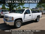 2012 Summit White Chevrolet Silverado 1500 LT Regular Cab 4x4 #68954047
