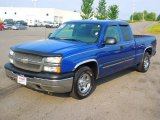 2004 Arrival Blue Metallic Chevrolet Silverado 1500 LS Extended Cab #68954181