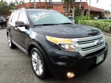 2011 Tuxedo Black Metallic Ford Explorer XLT #68954037