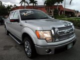 2010 Ingot Silver Metallic Ford F150 Lariat SuperCrew #68954036