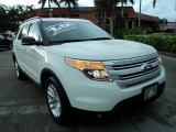 2011 White Suede Ford Explorer XLT #68954034