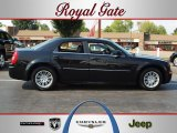 2008 Brilliant Black Crystal Pearl Chrysler 300 Touring #68983646