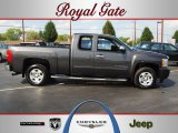 2011 Taupe Gray Metallic Chevrolet Silverado 1500 LT Extended Cab #68983723