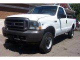 2002 Oxford White Ford F250 Super Duty XL Regular Cab 4x4 #68988496