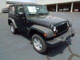 2012 Black Jeep Wrangler Sport 4x4 #68988308