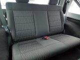 2012 Jeep Wrangler Sport 4x4 Rear Seat