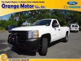 2011 Summit White Chevrolet Silverado 1500 Regular Cab 4x4 #68988120