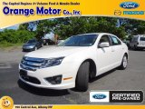 2011 White Platinum Tri-Coat Ford Fusion SEL #68988116