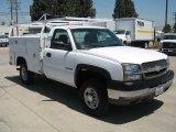2003 Summit White Chevrolet Silverado 2500HD Regular Cab Chassis Utility #68988425