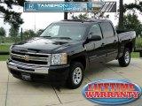 2010 Black Chevrolet Silverado 1500 LS Crew Cab #68988331
