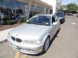 2003 Titanium Silver Metallic BMW 3 Series 330i Coupe #68988324