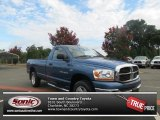 2006 Atlantic Blue Pearl Dodge Ram 1500 SLT TRX Regular Cab 4x4 #69028977