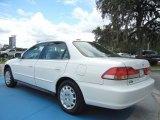 Taffeta White Honda Accord in 2002