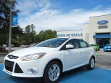 2012 Oxford White Ford Focus SEL Sedan #69028605