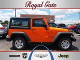 2012 Crush Orange Jeep Wrangler Sport 4x4 #69029230