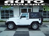 2012 Bright White Jeep Wrangler Sahara 4x4 #69028913