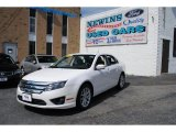 2011 White Platinum Tri-Coat Ford Fusion SEL V6 #69029195