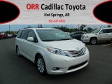 2011 Blizzard White Pearl Toyota Sienna Limited #69028853