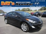 2013 Black Hyundai Elantra Limited #69029162