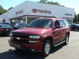 2004 Sport Red Metallic Chevrolet Tahoe Z71 4x4 #69029135