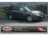 2012 Predawn Gray Mica Toyota Sienna Limited #69028417