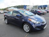 2012 Indigo Night Blue Hyundai Elantra GLS #69028391