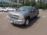 2012 Graystone Metallic Chevrolet Silverado 1500 LT Extended Cab 4x4 #69029101