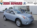 2012 Frosted Steel Nissan Rogue SV AWD #69029062