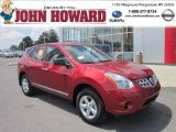 2012 Cayenne Red Nissan Rogue S Special Edition AWD #69029061