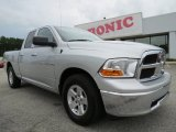 2012 Bright Silver Metallic Dodge Ram 1500 SLT Quad Cab #69028734